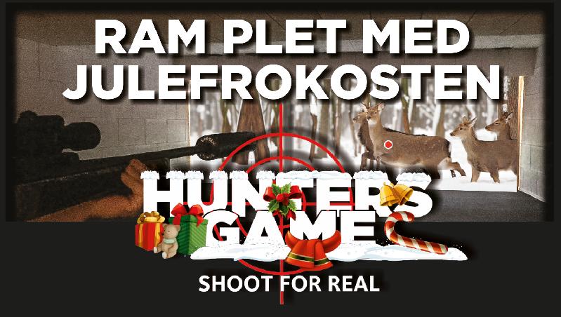 Skyd julefrokosten i gang i Hunters Game